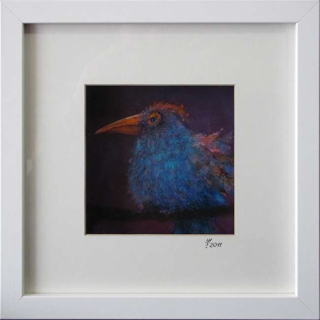 komischer Vogel III 10x10